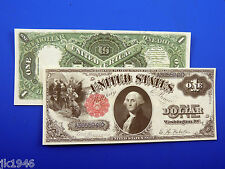 Reproduction $1 1880 Legal Tenter Note US Paper Money Currency Copy
