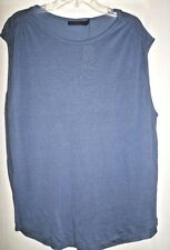 POLO RALPH LAUREN LINEN BLEND TANK TOP NWT MISSES LARGE