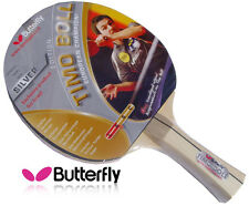 Butterfly Ping Pong Racket Tennis Timo Boll Silver BASIC Paddle Bat HQ