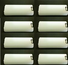 8 X LOT White Nintendo Original Wii Remote Battery Cover Door Replacement part