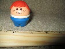 Vintage Little Tikes Toddle Tots Chunky People House red head kid home school