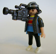 Playmobil Series 7 TV Camera Man Figure