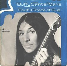 BUFFY SAINT-MARIE--PICTURE SLEEVE ONLY--(SOULFUL SHADE OF BLUE)--PS--PIC--SLV