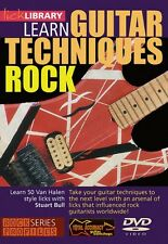 Learn Guitar Techniques: Rock Van Halen Style Lick Library DVD NEW 000393007