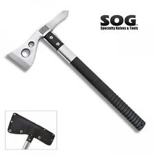 SOG TACTICAL TOMAHAWK SATIN FINISH w/ SHEATH F01P-N NEW