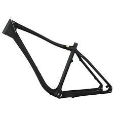 Carbon Fatbike Frame 17 inch BSA 100mm BB 190mm Rear Axle 26er Lightweight 1295g