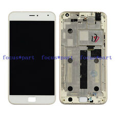 5.5'' White Meizu MX4 Pro LCD Display Touch Screen Digitizer Assembly+Frame