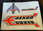 Raleigh BOXER bike decal/stickers