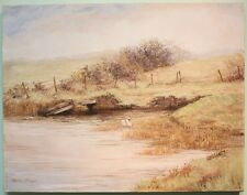 Original Painting BALLINDERRY RIVER, COOKSTOWN by Irish Artist BARBARA MCINTYRE