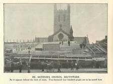 1902 St Saviours Church Southwark Behind Coronation Seats
