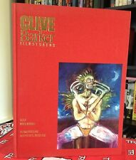 Clive Barker Illustrator Signed 1990 1st Trade HC w/ Hand Drawn Sketch!