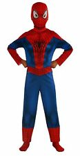 Boy's Marvel Halloween Spider-man 2 Piece Body suit Size L age 12-14 Costume