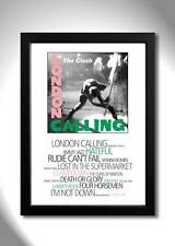 THE CLASH London Calling Vinyl Album Limited Edition Art Print