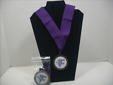 American Cancer Society  Relay For Life Medal Pendant Necklace Lanyard