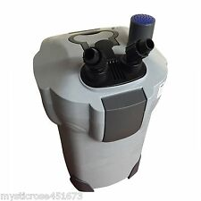 Aquarium Fish Tank External Canister Filter Pump 1000L/H WITH UV