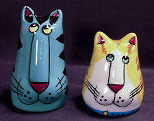 Catzilla Henriksen Imports Cat Salt and Pepper Shakers Candace Reiter 120199-H