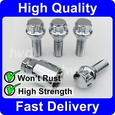 ALLOY WHEEL LOCKING BOLTS FOR SUZUKI SX4 & SWIFT MK2 / MK3 (2004+) LUG NUT [6H]