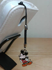 """Mickey Mouse"" Cell Phone Strap w/charm/Pendant and Dust Proof Plug 3.5mm"