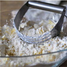 New Stainless Steel Pastry Dough Cutter Blender Mixer Whisk Baking Kitchen Craft