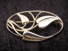 Sterling Silver Brooch by Ola Gorie    'CECILY' Design   Scottish
