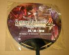 Samurai Warriors 4 & Warriors Orochi 3 Ultimate Fan from Gamescom 2014 Very Rare