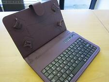 "Purple Bluetooth Keyboard Carry Case & Stand for BlackBerry PlayBook 7"" Tablet"