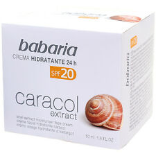 BABARIA 24h Moisturising Face Cream with Snail Extract 50 ml