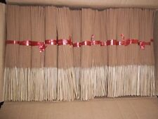 "10,000 Unscented Incense Sticks 11"" Premium Quality 100 Bundles of 100 Sticks"