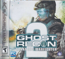 Ghost Recon ADVANCED WARFIGHTER 2 II Tactical Combat Shooter PC Game - NEW!