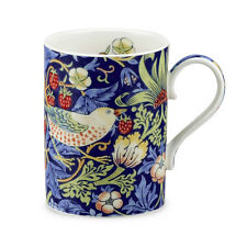 Royal Worcester William Morris & Co Strawberry Thief China Mug Indigo Blue Boxed
