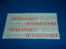 (Tr 150) JRD 123 UNIC LAUTURET transports internationnaux transfert / transfer