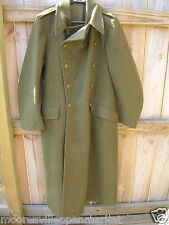 Original 1955 Military Wool Overcoat / Trench Heavy Warm H. Lotery & Co. (UK)