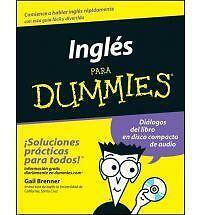 Ingles Para Dummies, Gail Brenner, Good Condition, Book
