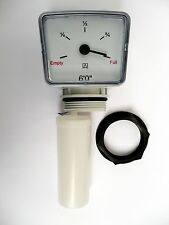 IBC CAGE TANK FLOAT GAUGE 6 ft  Oil or Water. Comes with a 1.1/2 Back-Nut