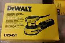 "BRAND NEW !! DeWalt D26451  3-Amp 5"" Random Orbit Palm Sander"