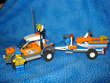 Lego City Rescue Coast Guard 4WD & Jet Scooter 7743 USED boys/girls6+