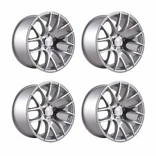 4 x 3SDM 0.01 Silver / Cut Polished Alloy Wheels - 5x120 | 18x8.5"