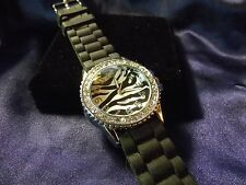 Woman's Quartz Watch with Zebra Face **Nice** B27-592