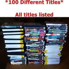 100 Different PS2 Games with LIST Wholesale Lot-Final Fantasy/GTA/Lego Star Wars