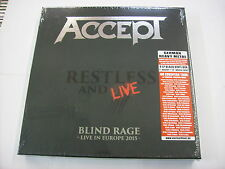 ACCEPT - RESTLESS AND LIVE - 4LP VINYL BOX NEW SEALED 2017
