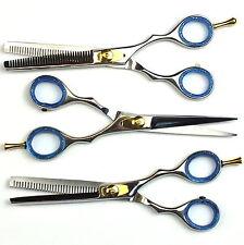 3er Set Haarscheren Effilierschere Friseurschere Modellierschere Haar Schere 6''
