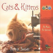 ~BACK ART MISSING~ Various Artists CD Our World's Sounds: Cats & Kittens