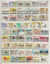 "£1.49 start - A small collection of ""TANZANIA"" issues, includes OFFICIALS"