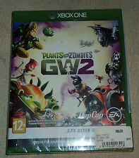 Plants vs Zombies: Garden Warfare 2 (Microsoft Xbox One, 2016) NEW SEALED