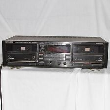 Kenwood Cassette Deck KX-W8010 Dual Auto Reverse Player Recorder Stereo