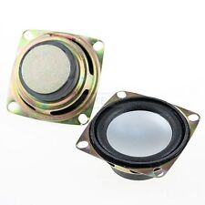 "2pcs 2"" inch 4Ohm 3W Full Range Audio Speaker Stereo Woofer Loudspeaker 52mm New"