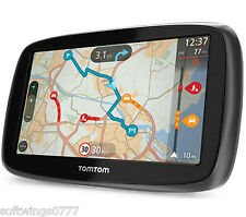 TomTom GO 500 5 pollici GPS SAT NAV-UK & Western Europe Lifetime Maps & Traffic