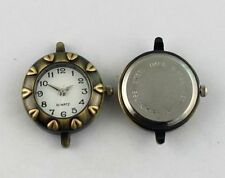 6PCS Antiqued Bronze Round Watch Face 23mm #20951