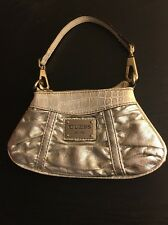 GUESS Metallic Clutch Handbag