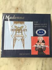 "RARE MADONNA  FRENCH 2CDS BOXSET ""THE IMMACULATE COLLECTION"" STILL SEALED"